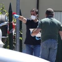 Perugia, le indagini sul luogo della sparatoria