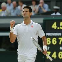 Nole e Roger, lezione di tennis