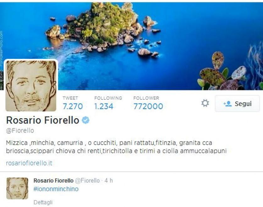 Calabria, #iononmiinchino: Fiorello lancia l'hashtag contro la mafia