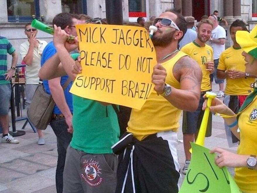 Brasile 2014, la maledizione di Jagger: Mick allo stadio e la sconfitta verdeoro