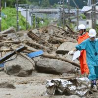 Giappone, arriva tifone Neoguri. Frana travolge città