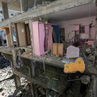 Gaza sotto attacco, macerie e desolazione