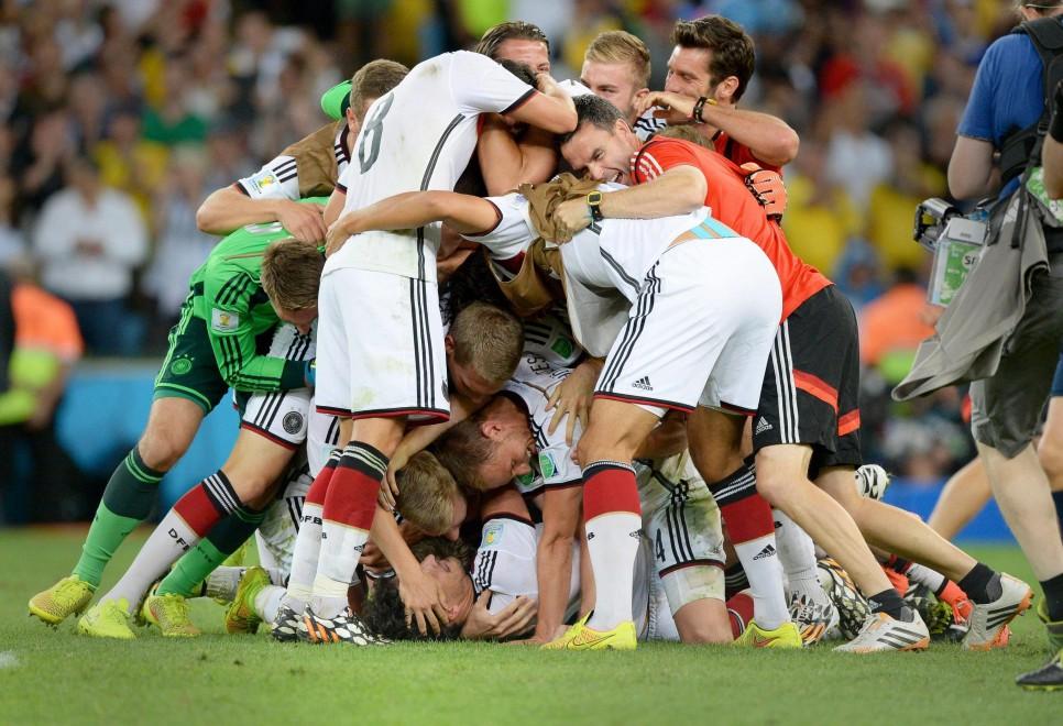 Brasile 2014, Germania campione: la gioia a fine partita