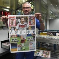 "Germania, i media in tripudio: ""E' vero"". E Goetze diventa 'Gott',"