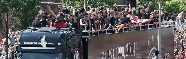 Germania in trionfo a Berlino   foto