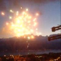 Reggio Calabria, fuochi d'artificio per festeggiare l'assoluzione di un sacerdote in un processo di 'ndrangheta
