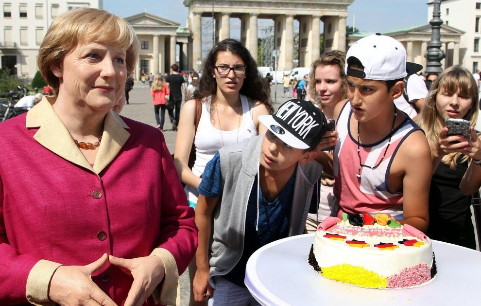 I 60 anni di Angela Merkel: Berlino festeggia la Cancelliera