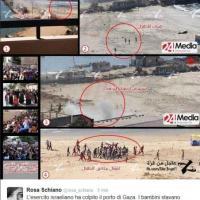 """Gaza, missile sui bambini. """"Ecco la fotosequenza"""""""