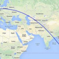 Ucraina, aereo malese abbattuto al confine con la Russia: la rotta