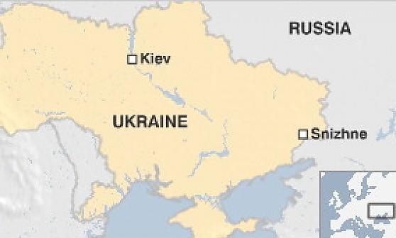 Ucraina, il camion dei missili Buk nella città dei filorussi