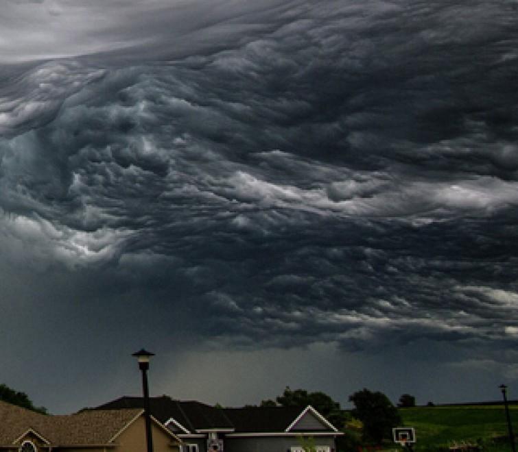 Nebraska, un cielo da non credere: realtà o Photoshop?