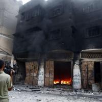 Gaza, strage a Sajaya: le foto del quartiere distrutto