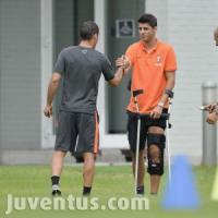 Juventus, per Morata lesione al legamento: rientrerà a metà settembre