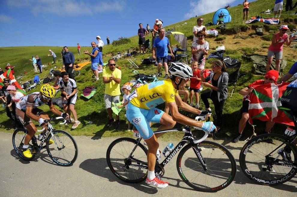Tour de France, il film della prima tappa sui Pirenei