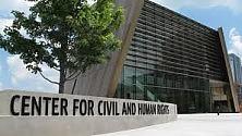 """La lotta per i diritti civili  negli Usa, ad Atlanta nasce il """"Center for Civil and Human Rights""""   di SALVATORE GIUFFRIDA"""