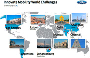 Ford, al via l'Innovative Mobility Challenge