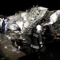 Taiwan, schianto aereo Transasia: le foto dei soccorsi