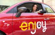 Enjoy, car sharing da record