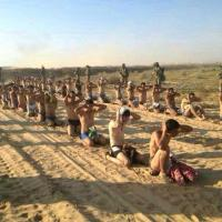 In ginocchio e senza abiti: i palestinesi catturati dai soldati israeliani