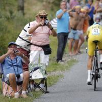 Tour de France, il film della cronometro