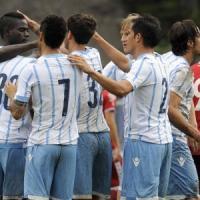 Lazio: 3-0 al Perugia, disordini tra tifosi