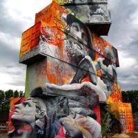 Belgio, antica Grecia sui container: il graffito è mitologico