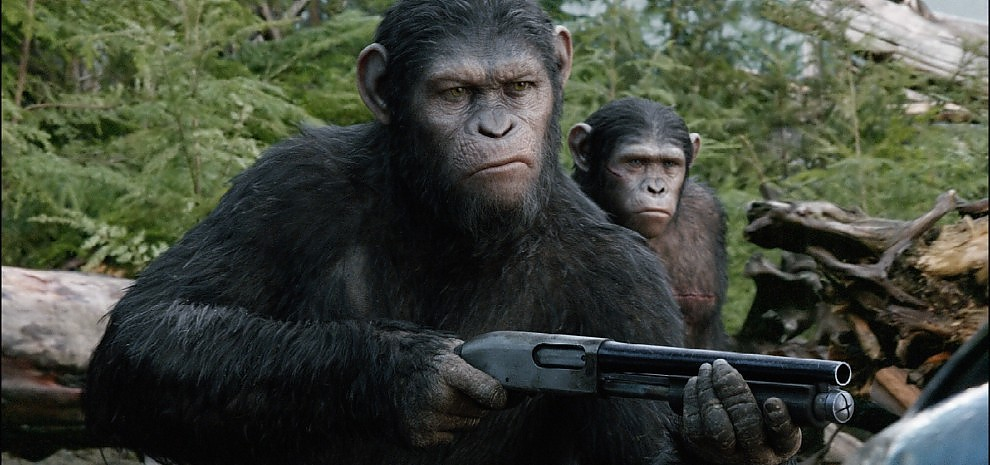 """""""Apes Revolution"""", sul pianeta delle scimmie gli animali siamo noi"""