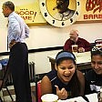Obama va al fast food la sorpresa degli studenti    Il video