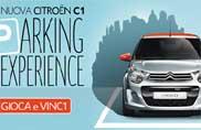 Citroën C1 Parking Experience, il parcheggio diventa un gioco da ragazzi