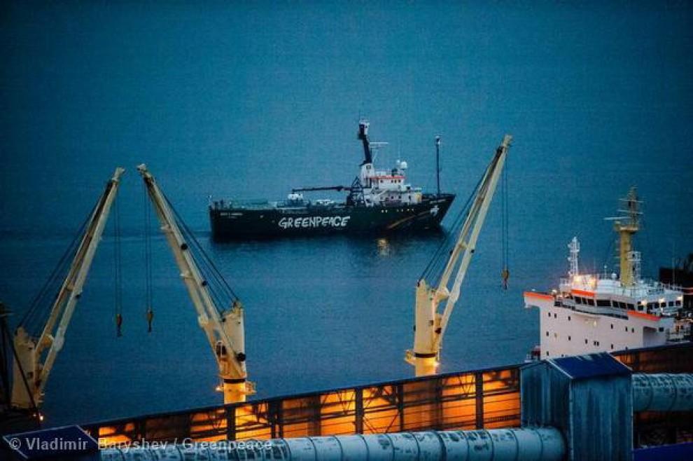 Greenpeace la arctic sunrise torna a casa dopo 10 mesi di sequestro - Sequestro prima casa ...