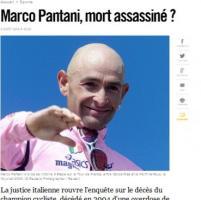 Nuova inchiesta sulla morte di Pantani, le reazioni della stampa estera