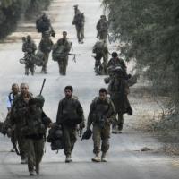 Gaza, il ritiro dei soldati israeliani