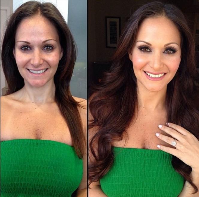 Magie del make-up: come ti cambia il trucco