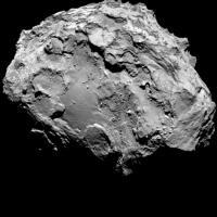 Rosetta, le prime immagini della cometa vista da vicino