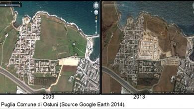 """""""Basta cemento sulle nostre coste"""" L'allarme del Wwf in un dossier   Le foto dall'alto: prima e dopo"""