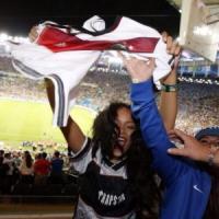 Rihanna 'pazza' per il calcio: