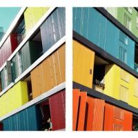 """Geometrie e colori. Le """"riflessioni"""" di Matthias Heiderich"""