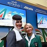 """Accordo Alitalia-Etihad    video   """"Investimenti e servizi di qualit�"""""""