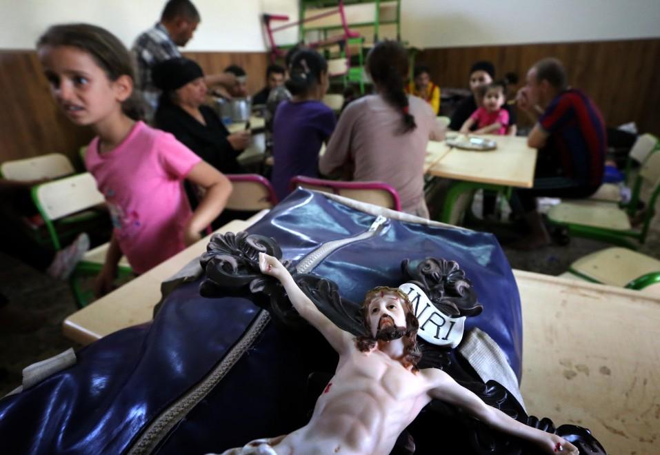 Iraq, cristiani trovano rifiugio nelle chiese
