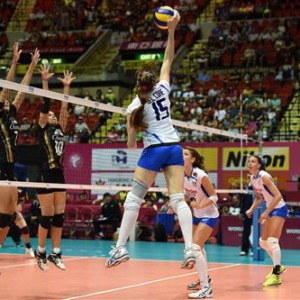 Volley Grand Prix, le azzurre travolgono la Thailandia: 3 a 0