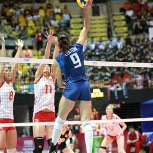 Volley Grand Prix, l'Italia si arrende alla Cina