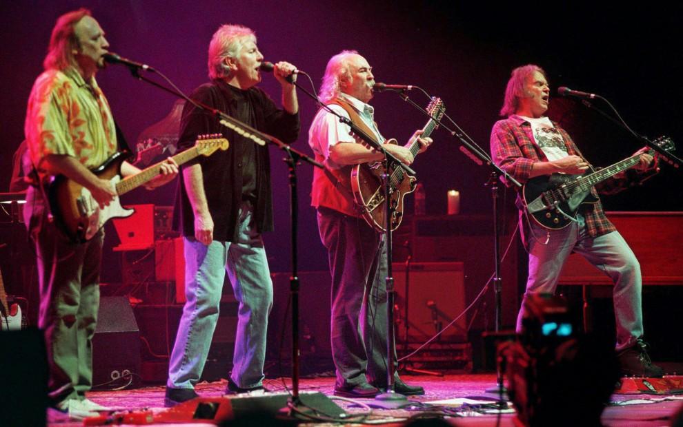 CSN&Y, da Woodstock al '74, il quartetto delle meraviglie