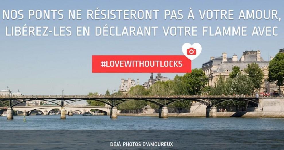 Parigi, selfie al posto dei lucchetti per salvare i ponti