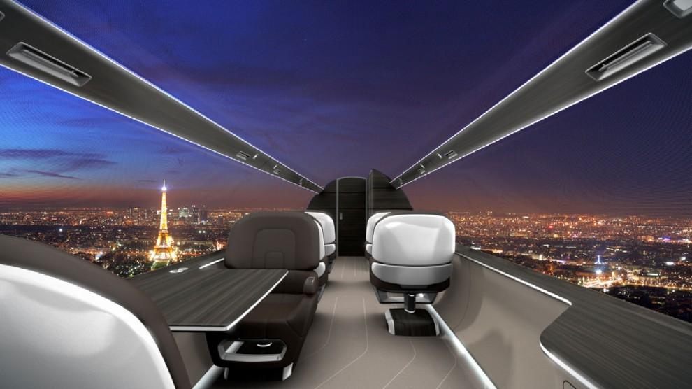 Francia, l'aereo del futuro è con vista panoramica - Repubblica.it