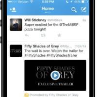 Twitter, prove di pubblicità video