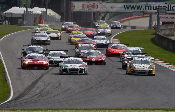 Campionato italiano GT: la legge dei grandi numeri