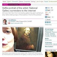 Io e l'opera d'arte, quando i musei sdoganano i selfie