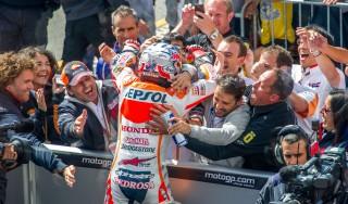 Pedrosa, schiaffo a Marquez: suo il Gp di Brno, secondo Lorenzo, poi Rossi