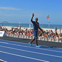 Atletica, il ritorno di Bolt: in pista sulla spiaggia di Rio