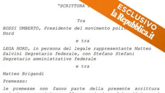 Lega contro Lega, finisce in tribunale la lite in casa padana tra Bossi e Salvini